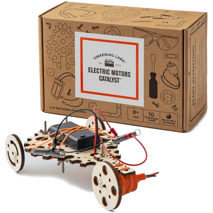 Tinkering Labs Electric Motors Catalyst Robotics STEM Kit