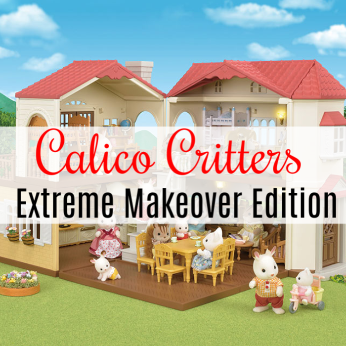 Looking for the perfect gift for the young ones in your life?  Consider Calico Critters Extreme Makeover Edition play set!  Click through to check it out...