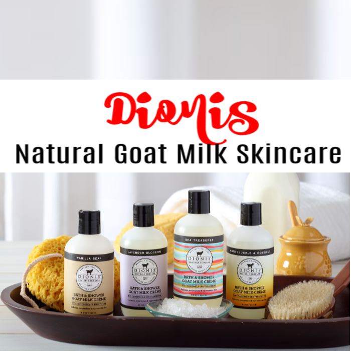 Dionis Natural Goat Milk Skincare is a great gift for any occasion.  They also have great gift sets that would make great stocking stuffers, too,  Click though to learn more...