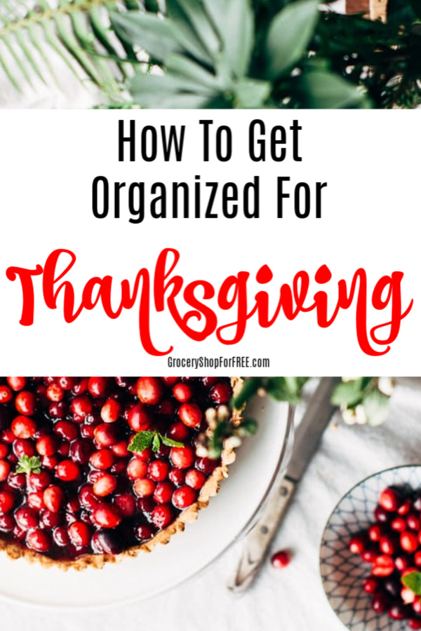 How To Get Organized For Thanksgiving And Enjoy It