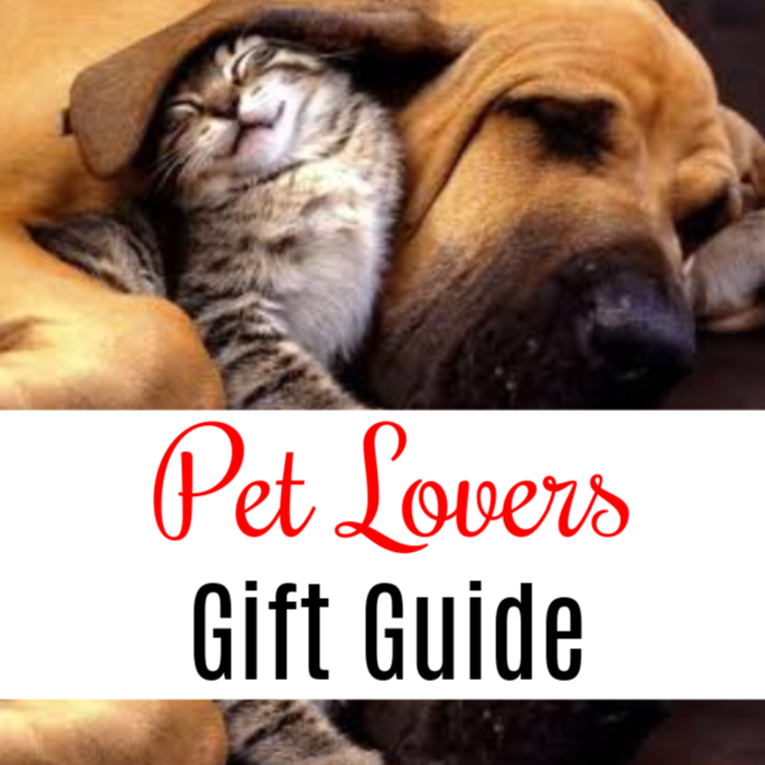 If you're looking for a pet gift or a gift for the pet lover in your life, look no further. We have the best Pet Lovers Gift Guide around.  Just click through to see all the great ideas!