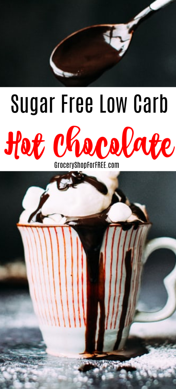 Looking for a great Hot Chocolate recipe that fits the sugar free low carb description?  Well, here you go!  Click through to make it for yourself!