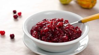 3-Ingredient Paleo Cranberry Sauce