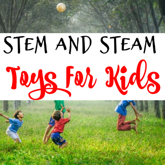 Looking for STEM and STEAM toys for kids?  Click through to see this great list of possibilities...