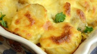 Easy Potatoes Au Gratin