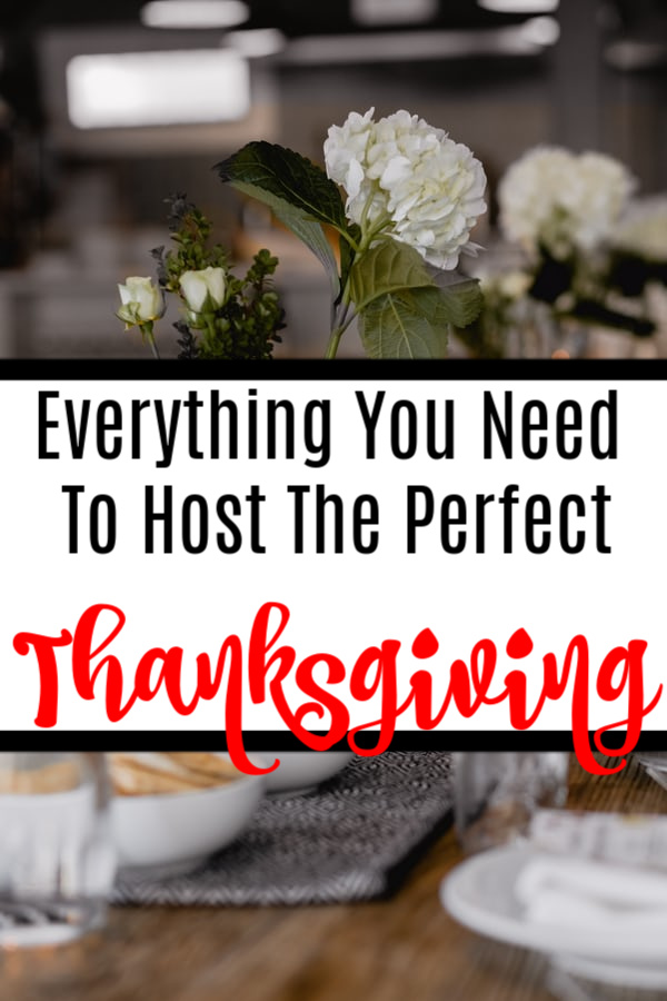 Planning to host your first Thanksgiving Dinner?  Or maybe you're a seasoned dinner host pro.  Either way this will help you get prepared in no time, click through to see more...