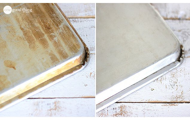 Make Your Old Cookie Sheets Look Like NEW Again!