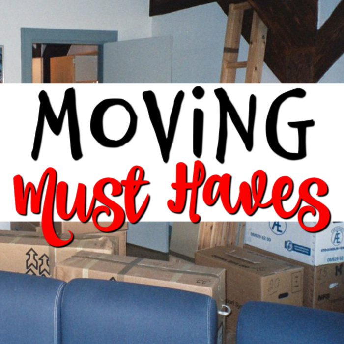 If moving day is coming up for you, then these must haves for moving will come in handy.  Click through now and make sure you don't forget anything...