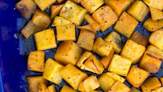 Roasted Butternut Squash - simple side with just a few ingredients
