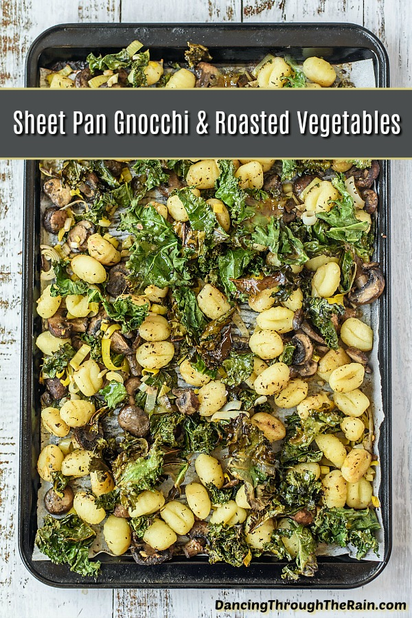 Sheet Pan Gnocchi With Roasted Vegetables