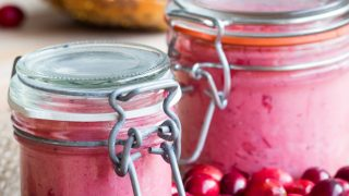 Whipped Cranberry Butter with a Touch of Honey (GF)