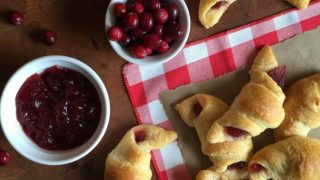 Cranberry Crescent Rolls - Beauty through imperfection