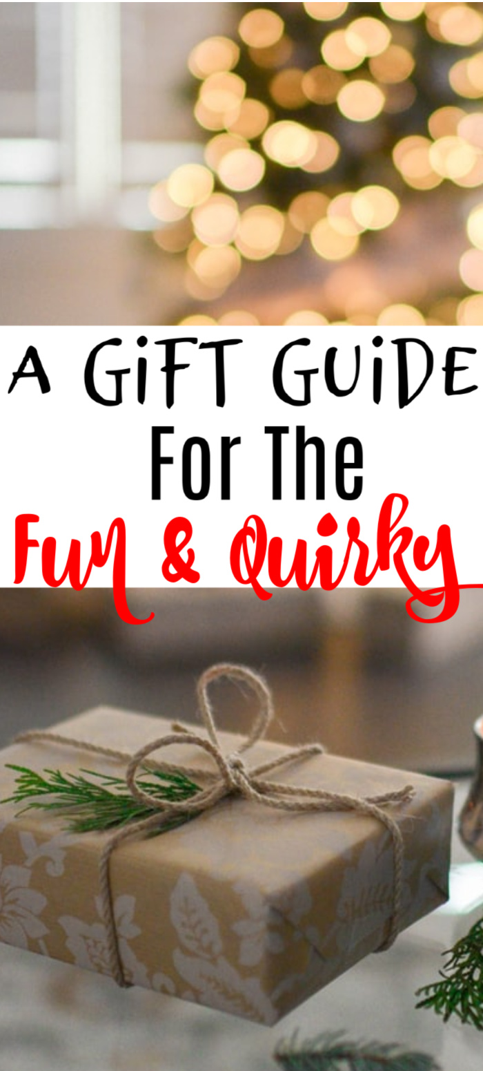 Are you looking for a fun and quirky gift idea?  Well you have come to the right place.  Click through to see more...
