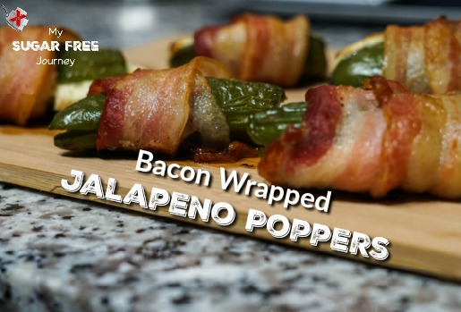 Ketogenic Bacon Wrapped Jalapeno Poppers Recipe