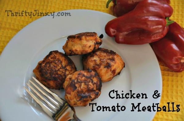 Chicken and Tomato Meatballs Recipe
