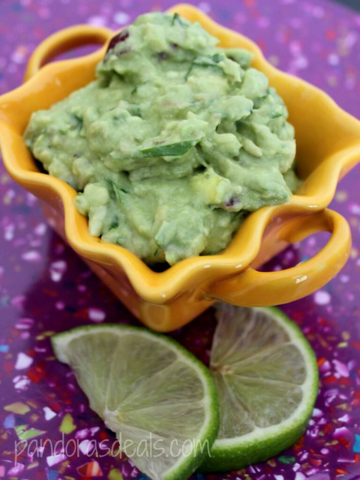 Fresh And Easy Homemade Guacamole - See Mom Click
