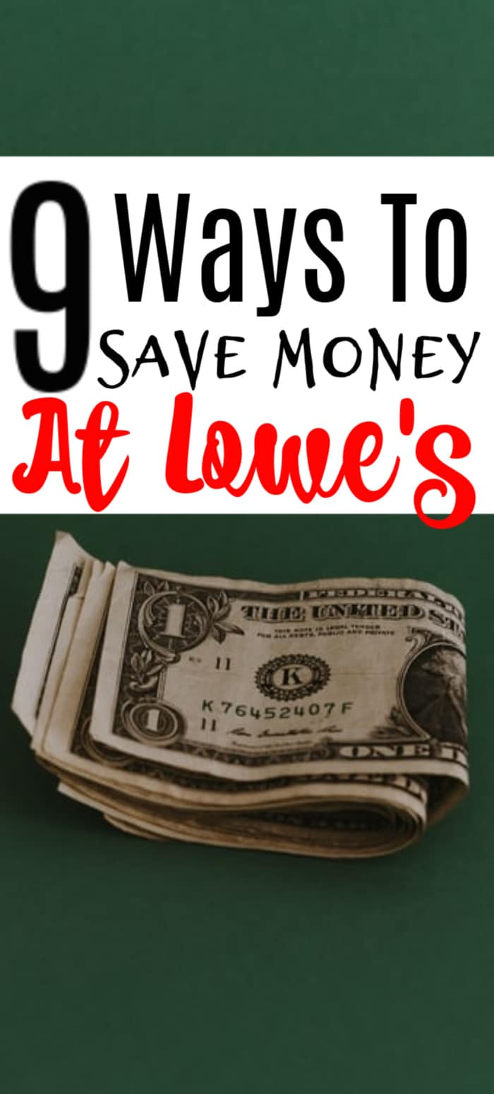 Do you need home improvements but it's just not in the budget? Check out these great ways to save at Lowe's.  click through to find out more...