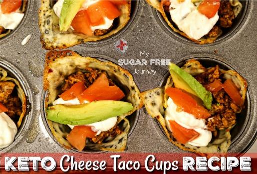 Keto Cheese Taco Cup Recipe!