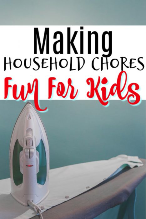 Making Household Chores Fun For Kids