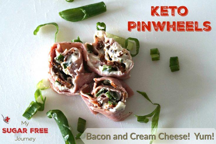 Keto Bacon and Cream Cheese Pinwheels Recipe!