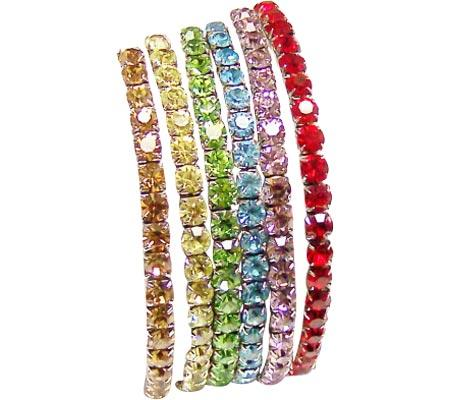 Women's Crystal Bracelets