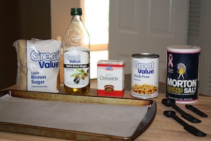 Savory Roasted Chickpeas Recipe