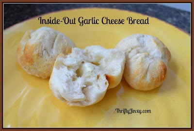 Inside-Out Garlic Cheese Bread Bites Recipe