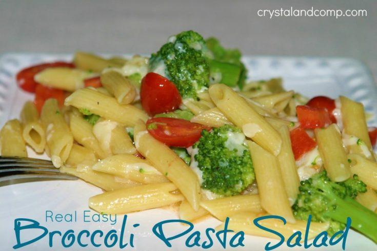 Real Easy Recipes: Broccoli Pasta Salad