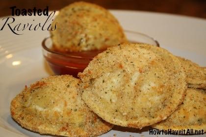 Toasted Raviolis Recipe