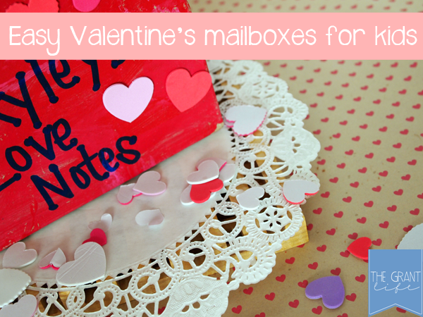 Activities for Kids: Valentine's Mailboxes