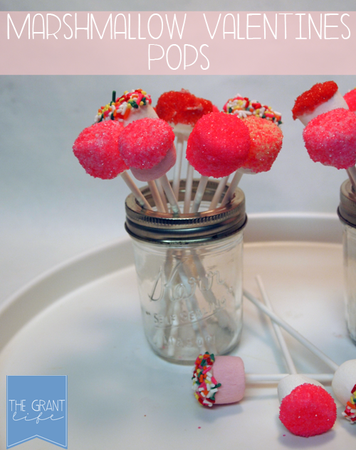 Activities for Kids: Marshmallow Valentines Pops