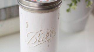 Mason Jar Tissue Holder - A Great Idea For Every Room | landeelu.com
