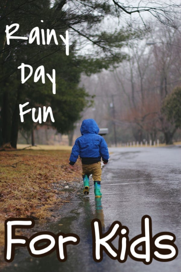 Kids and rainy days can spell BOREDOM.  But with these great rainy day ideas for kids you can make it fun again.  Just click through to see more NOW....