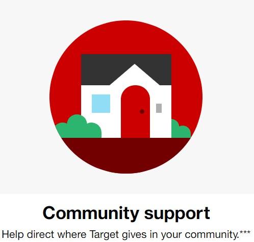 Target Circle Target Cartwheel Community Giving Program