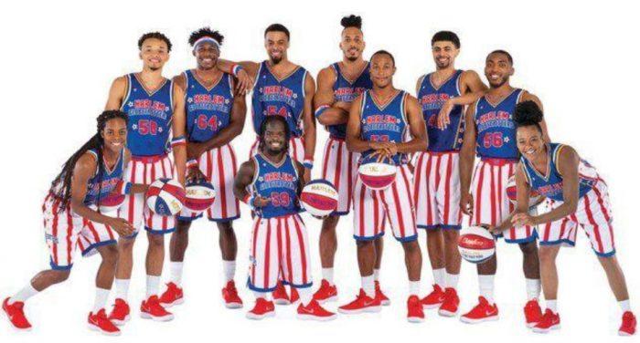 The Harlem Globetrotters team photo