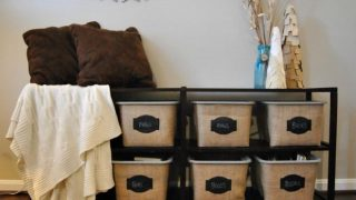 How to make Dollar Tree bins look like they are Pier One