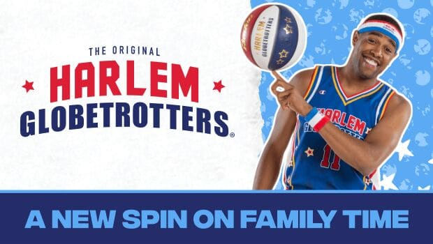 Want to save 25% off on a ticket to the Harlem Globetrotters World Tour?  Click through to find out how, NOW...
