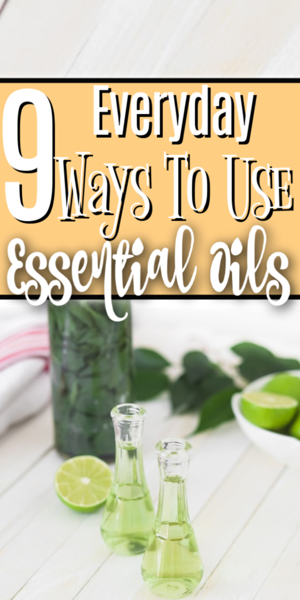 If you're looking to incorporate essential oils into your home and family then these 9 Everyday Ways To Use Essential Oils will get you started!  Click through NOW to see them...
