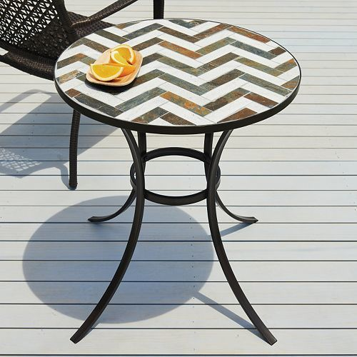 SONOMA outdoors™ Mosaic Bistro Table Only $49.50 Down From $199.99 At Kohl's!