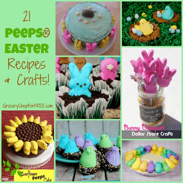 21 Peeps Easter Recipes And Crafts!