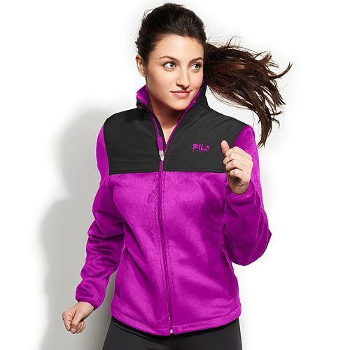 Women's FILA SPORT Performance Fleece Jacket Only $9.45! Down From Up To $50.00!