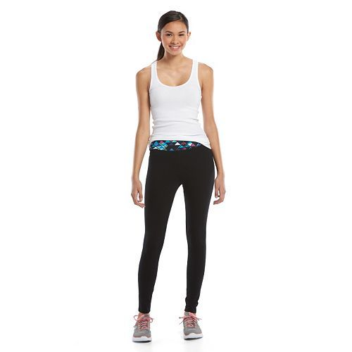 Juniors' SO Yoga Leggings & Tank Top Set Only $6.07! Down From Up To $30.00!