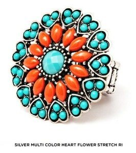 Bright & Beautiful Statement Ring - Assorted Styles Just $6 Plus FREE Shipping!