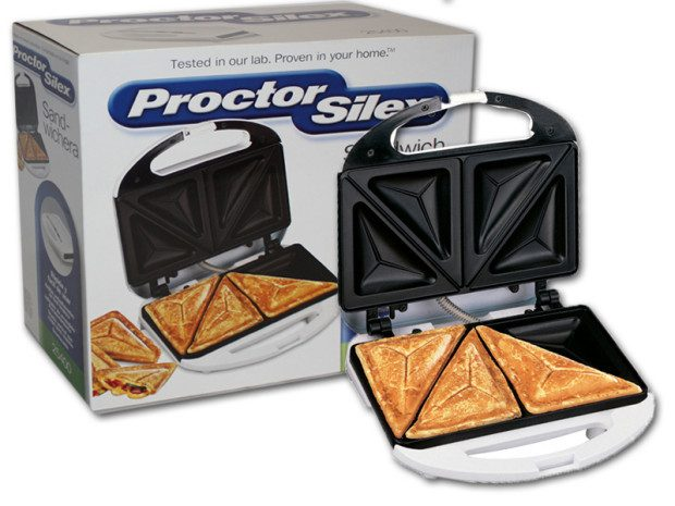 Proctor Silex Sandwich Toaster Just $12.39!  Down From $34.22!