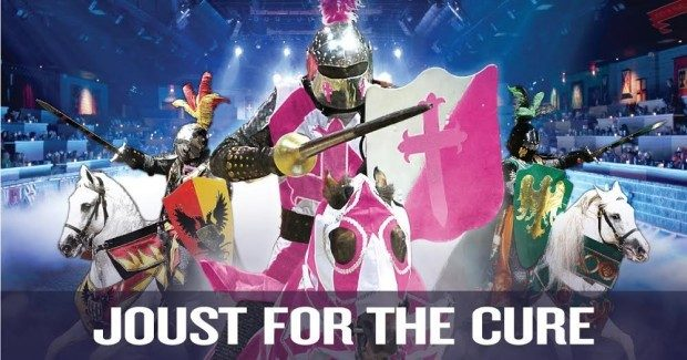 JOUST FOR THE CURE:  Medieval Times Discount And Benefit For Susan G. Komen Dallas®!
