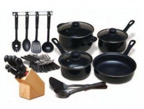 Kitchen Combo Set 32-Piece Only $29.95!