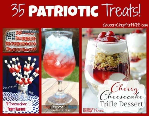 35 Patriotic Treats