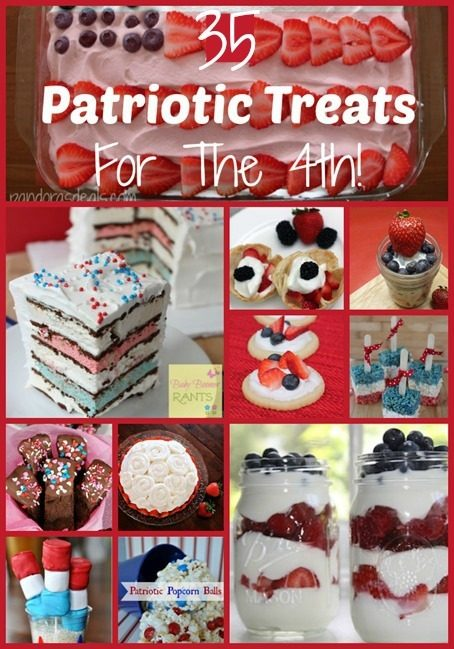 35 Patriotic Treats For The 4th