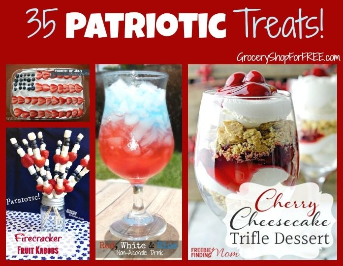 35 Patriotic Treats For The 4th!
