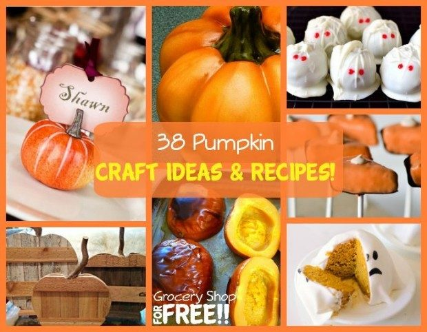 38 Pumpkin Craft Ideas & Recipes!
